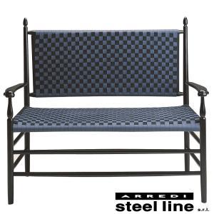 シェーカー ダブルソファ スティールライン社DESIGN900 (steel line) genufine-store