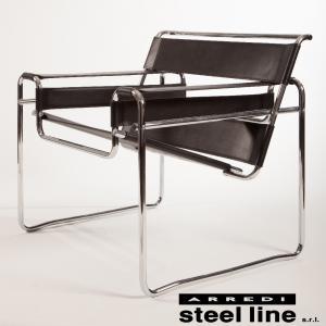 【商品説明】 1920年代〜30年代、スチールパイプ製椅子はモダンの最先端のデザインでした。 当時バ...