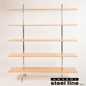 【商品説明】 巨匠 マルセル・ブロイヤーによって1930年にデザインされたブックシェルフです。 非常...
