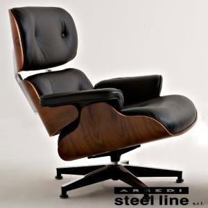 チャールズ&レイ・イームズ ラウンジチェア スティールライン社DESIGN900 (steelline) genufine-store