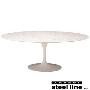 エーロ・サーリネン チューリップダイニングテーブル(199×121) スティールライン社DESIGN900 (steel line)|genufine-store