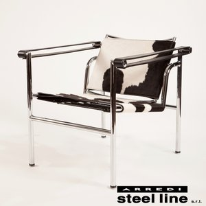 ル・コルビジェ LC1 スリングチェア スティールライン社DESIGN900 (steelline) genufine-store