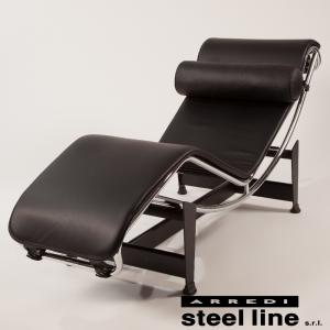 *20%OFFクーポン対象* ル・コルビジェ LC4 シェーズロング スティールライン社DESIGN900 (steelline)の写真