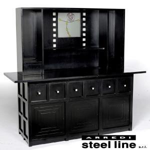 C.R.マッキントッシュ  D.S.5カップボード スティールライン社DESIGN900 (steel line)|genufine-store