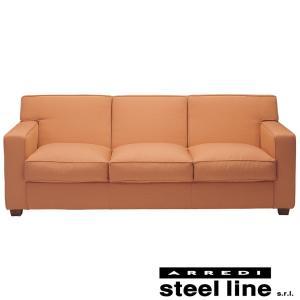 ジャン・ミシェル・フランク ソファ3P(ファブリック仕様) スティールライン社DESIGN900 (steel line)|genufine-store