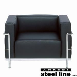 ル・コルビジェ LC3 1P スティールライン社DESIGN900 (steelline)|genufine-store