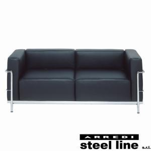ル・コルビジェ LC3 2P スティールライン社DESIGN900 (steel line) genufine-store