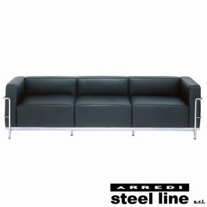ル・コルビジェ LC3 3P スティールライン社DESIGN900 (steel line)|genufine-store