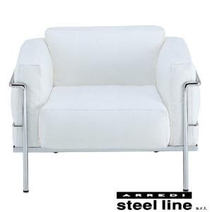 ル・コルビジェ LC3 プロトタイプモデル1P スティールライン社DESIGN900 (steelline)|genufine-store