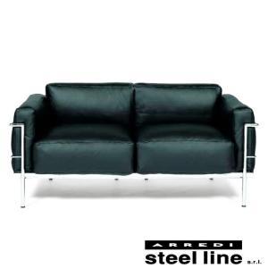 ル・コルビジェ LC3 プロトタイプモデル2P スティールライン社DESIGN900 (steel line) genufine-store