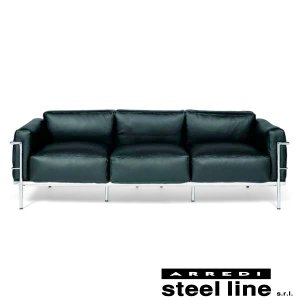 ル・コルビジェ LC3 プロトタイプモデル3P スティールライン社DESIGN900 (steel line)|genufine-store