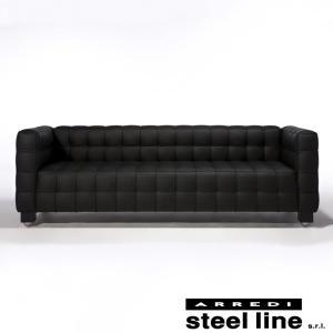 ヨーゼフ・ホフマン クーブス3P スティールライン社DESIGN900 (steel line)|genufine-store
