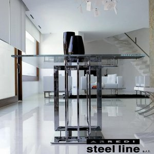 LIFE CLASSシリーズ TRILOGYダイニングテーブル(W220) スティールライン社 (steelline)|genufine-store