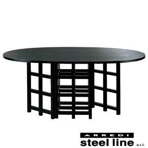 C.R.マッキントッシュ D.S.1ダイニングテーブル スティールライン社DESIGN900 (steelline)|genufine-store