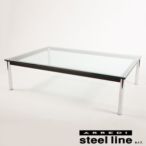 ル・コルビジェ LC10 120×80×33 スティールライン社DESIGN900 (steel line)|genufine-store