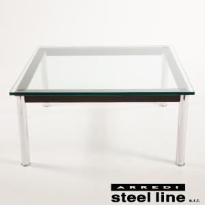 ル・コルビジェ LC10 70×70×33 スティールライン社DESIGN900 (steel line)|genufine-store
