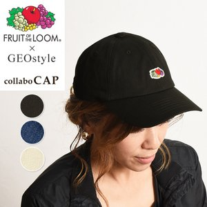 FRUIT OF THE LOOM フルーツオブザルーム GEOstyle別注 キャップ 帽子 023-453GE|geostyle