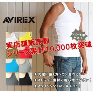 ポイント還元セール AVIREX アビレックス アヴィレックス デイリー タンクトップ メンズ 6143503_618363|geostyle