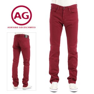 AG エージー 送料無料 MATCHBOX マッチボックス スリムストレート カラーデニム(RED MAPLE) AG1131CSD Adriano Goldscmied|geostyle