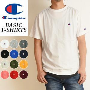 Champion チャンピオン メンズ ベーシックライン クルーネックTシャツ BASIC LINE CREW NECK T-SHIRTS C3-H359 geostyle