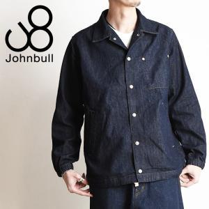 【送料無料】Johnbull ジョンブル デニム コーチジャケット デニムジャケット メンズ 12539 geostyle