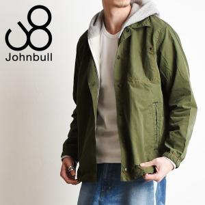 残りわずか!セール30%OFF Johnbull ジョンブル カラースキーム コーチ ジャケット シャツ メンズ 12547|geostyle
