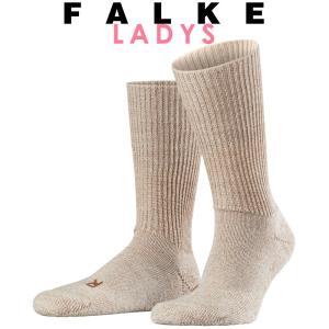 正規取扱店 FALKE ファルケ WALKIE ウォーキー レディース ソックス 靴下 厚手 ウール あたたか 冷えとり靴下 暖かい ベージュ #16480|geostyle
