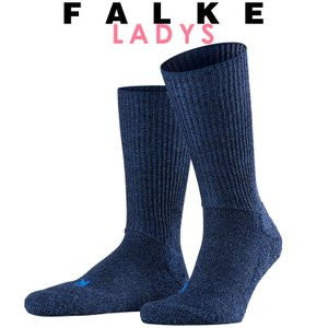 正規取扱店 FALKE ファルケ WALKIE ウォーキー レディース ソックス 靴下 厚手 ウール あたたか 冷えとり靴下 暖かい ジーンズ #16480|geostyle