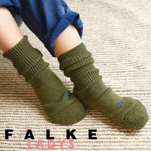 正規取扱店 FALKE ファルケ WALKIE ウォーキー レディース ソックス 靴下 厚手 ウール あたたか 冷えとり靴下 暖かい ウォームビズ ハーブ #16480|geostyle