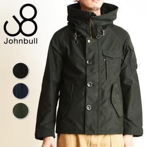 Johnbull ジョンブル ユーティリティ シェルジャケット テトラテックス ミリタリージャケット メンズ 防水 撥水 防寒 軽量 16580|geostyle