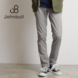2018新作 JOHNBULL ジョンブル メンズ スリムストレッチ ダブルクロスパンツ 21085|geostyle