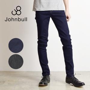 JOHNBULL ジョンブル メンズ フレックス スリム テーパード ジーンズ デニムパンツ 21142 ストレッチ|geostyle