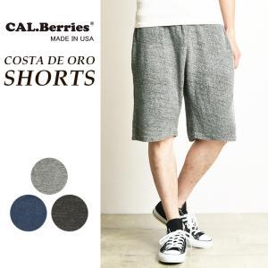 カルベリーズ CAL.Berries フレンチテリー ショーツ ハーフパンツ メンズ  35TFT010|geostyle