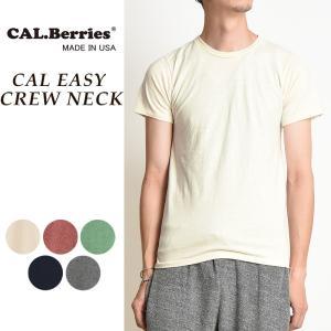 カルベリーズ CAL.Berries カルイージー クルーネック 半袖Tシャツ メンズ 35TJ001|geostyle