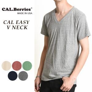 カルベリーズ CAL.Berries カルイージー Vネック 半袖Tシャツ メンズ 35TJ002|geostyle