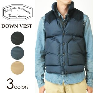 Rocky Mountain Featherbed ロッキーマウンテン MENS DOWN VEST ダウンベスト 450-512-01|geostyle