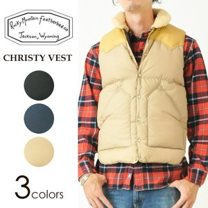 Rocky Mountain Featherbed ロッキーマウンテン CHRISTY-VEST クリスティベスト ダウンベスト 450-512-02|geostyle