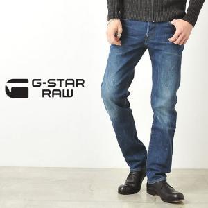 ジースターロウ G-STAR RAW メンズ アクセルストレッチデニム Revend Straight 51011-6564【裾上げ無料】|geostyle