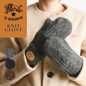 IL BISONTE イルビゾンテ 手袋 ニットグローブ/手袋/ミトン レディース 54182309482|geostyle