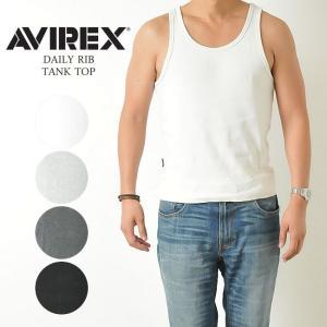 【ポイント還元セール】AVIREX アビレックス アヴィレックス デイリー タンクトップ メンズ 6183140_6143507|geostyle
