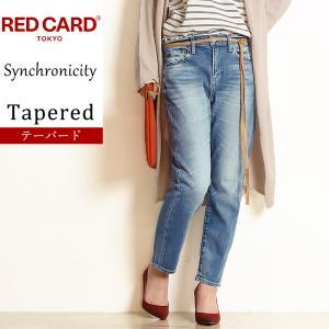 期間限定ポイント10倍×SALEセール10%OFF レッドカード RED CARD レディース シンクロニシティ クロップド デニムパンツ ジーンズ Synchronicity 64527|geostyle