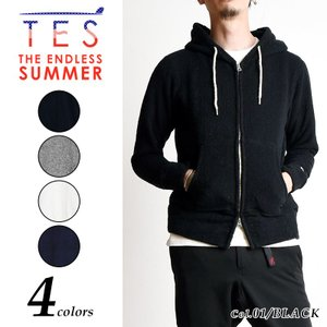 SALEセール10%OFF TES-The Endless Summer テス エンドレスサマー コンフォータブル パイル生地パーカー ロゴ 8374310  geostyle