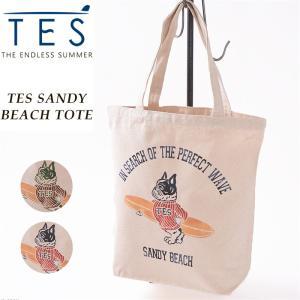 ラッピング無料 テス エンドレスサマー TES-The Endless Summer キャンバス トートバッグ メンズ レディース 通勤 通学  9574712|geostyle