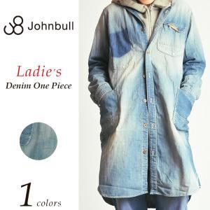 ジョンブル Johnbull *ワークデニムシャツ ワンピース(ユーズド) レディース AW678 ルードドレス|geostyle