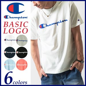 Champion チャンピオン ベーシック ロゴプリント半袖Tシャツ C3-H374 geostyle