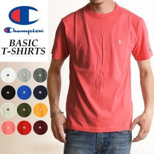 【SALEセール10%OFF】Champion チャンピオン Tシャツ ベーシックライン クルーネックTシャツ メンズ BASIC LINE CREW NECK T-SHIRTS C3-P300 920|geostyle