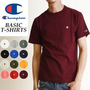 【SALEセール10%OFF】Champion チャンピオン Tシャツ ベーシックライン クルーネックTシャツ メンズ BASIC LINE CREW NECK T-SHIRTS C3-P300|geostyle