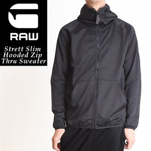 SALEセール 20%OFFジースターロウ G-STAR RAW Strett Slim ストレッチ スウェット パーカー メンズ ジップアップ D07243-4534|geostyle