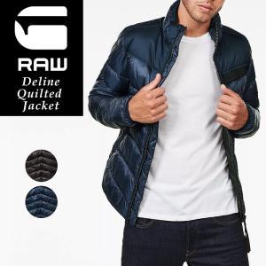 G-STAR RAW ジースターロウ ダウンジャケット  長袖 メンズ  D09658-A579 Deline Quilted Jacket 大きいサイズ|geostyle