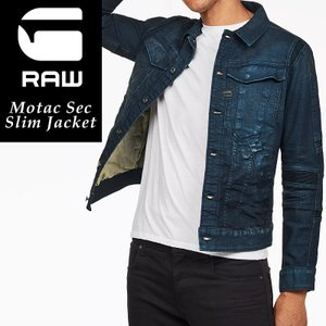 SALEセール10%OFF 新作 G-STAR RAW ジースターロウ モタック スリムジャケット 長袖 メンズ デニムジャケット Gジャン Motac Sec Slim Jacket D10447-A088|geostyle
